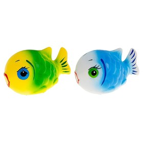 Резиновая игрушка «Рыбка-клоун», МИКС