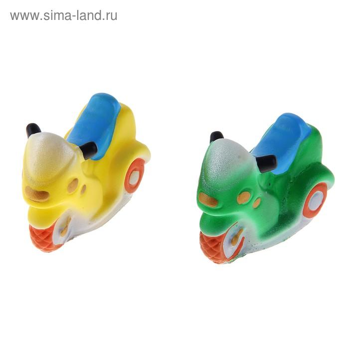 """Резиновая игрушка """"Скутер"""" МИКС"""