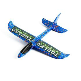 Самолёт «Только вперёд» 31х35 см, синий