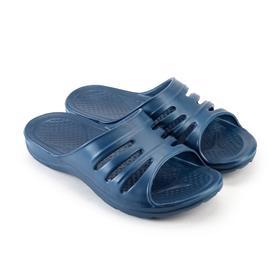 Сланцы мужские «Тайм» цвет синий, размер 40-41