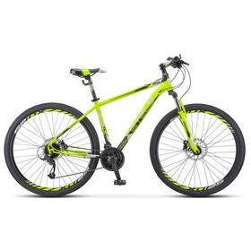 """Велосипед 29"""" Stels Navigator-910 D, V010, цвет лайм/черный, размер 16,5"""""""