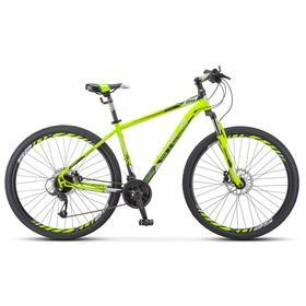 """Велосипед 29"""" Stels Navigator-910 D, V010, цвет лайм/черный, размер 18,5"""""""