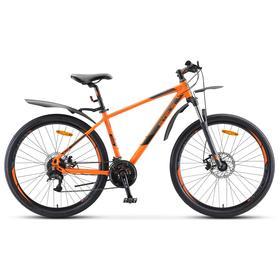 "Велосипед 27,5"" Stels Navigator-745 MD, V010, цвет оранжевый, размер 21"""
