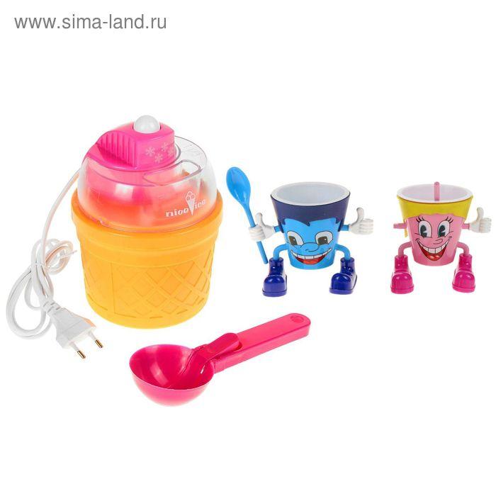 Мороженица (в комплекте 2 стакана с чайными ложками, 1 большая ложка)