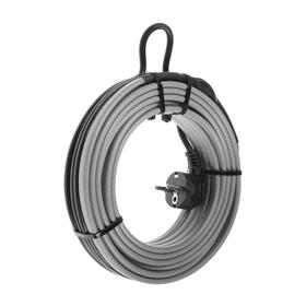 Self-regulating heating cable SRL 16-2CR, 16 W / m, kit, on pipe 10 m