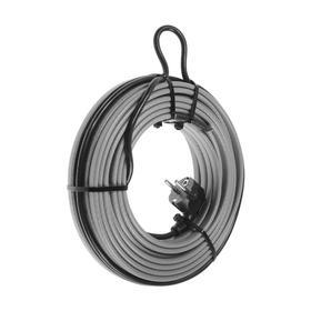 Саморегулирующийся греющий кабель SRL 16-2CR, 16 Вт/м, комплект, на трубу 15 м