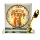 """Подставка для ручки с иконой """"Святые Царственные Страстотерпцы"""""""
