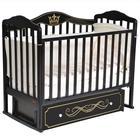 Кроватка Stephania Elegance, автостенка, универсальный маятник, ящик, цвет шоколад - фото 9020769