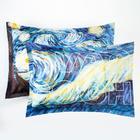 """Комплект наволочек """"Этель"""" Van Gogh 50х70 см - 2 шт, 100% хлопок, бязь - фото 9021201"""