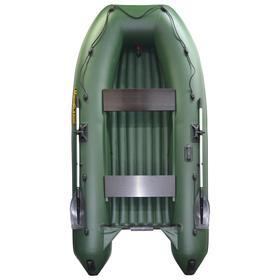 Лодка «Муссон 3200 НДНД» надувное дно+киль, цвет олива