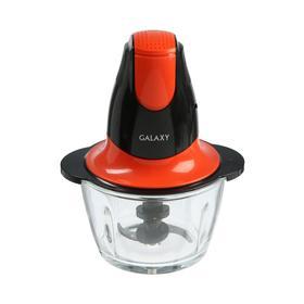 Измельчитель Galaxy GL 2359, пластик, 400 Вт, 0.75 л, черно-красный