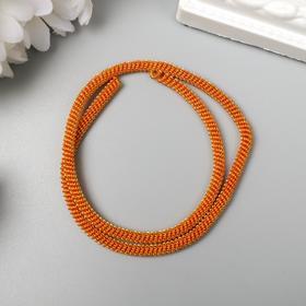 Divitel soft, twisted 3 mm matte, orange 5 gr
