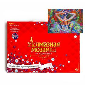 Almazn. Mosaic 22x32 C sub., with full. filled. Class. 20 Col Beautiful ballerina AC22102.