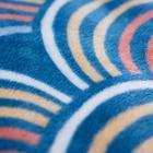 Покрывало-плед с рукавами Радуга, 140х180см - фото 815526