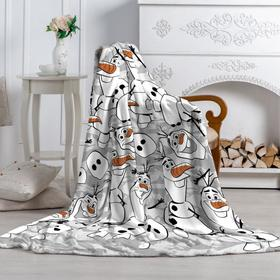 Плед «Павлинка» Холодное Сердце-2 Олаф, размер 100х150 см