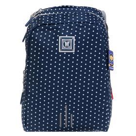 Рюкзак молодёжный, Merlin, 43 x 32 x 18 см, эргономичная спинка, синий