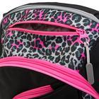 Рюкзак молодёжный, Merlin, 45 x 30 x 14 см, эргономичная спинка, чёрный/розовый - фото 815737