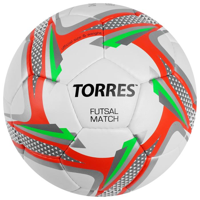 Мяч футзальный Torres Futsal Matc, F30064, размер 4