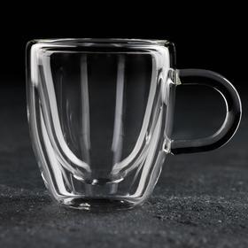 {{photo.Alt || photo.Description || 'Кружка с двойными стенками Magistro «Дуо», 80 мл, 9×6×6,5 см'}}