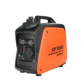 Генератор инверторный PATRIOT 1000i, 4Т, 0.9 кВт, 220 В, 220/12 В, 2.1 л, ручной стартер