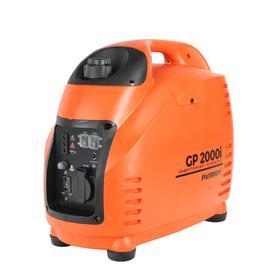 Генератор инверторный PATRIOT 2000i, 4Т, 1.8 кВт, 220 В, 220/12 В, 3.6 л, ручной стартер