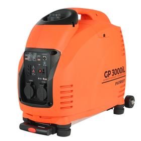 Генератор инверторный PATRIOT 3000il, 4Т, 3.5 кВт, 2х220 В, 5.7 л, комплект транспортировки   690824