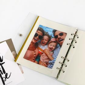 Фотоальбом с магнитными листами в ПВХ-обложке «Наши мечты-наше будущее» - фото 7405851