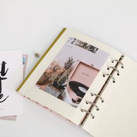 Фотоальбом с магнитными листами в ПВХ-обложке «Счастье внутри нас» - фото 7405858