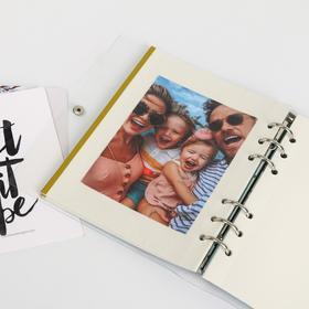 Фотоальбом с магнитными листами в ПВХ-обложке «Сочиняй мечты» - фото 7405872