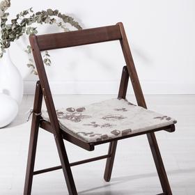 Сидушка на стул Фиалка, 40х40х1,5см