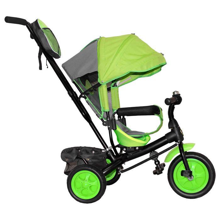"""Велосипед трехколесный Лучик Vivat 2, колеса EVA 10""""/8"""", цвет салатовый - фото 816740"""