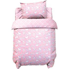 Постельное белье беби LoveLife «Радужные единороги» 112*147 см, 60*120+20 см, 40*60 см