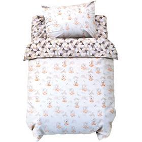 Постельное белье беби LoveLife «Милые зайки» 112*147 см, 60*120+20 см, 40*60 см