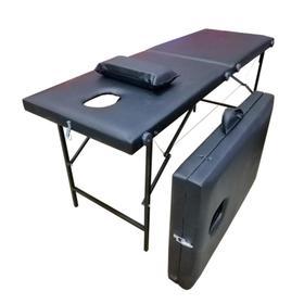 """Массажный стол """"Колибри"""" 180*60*70, цвет чёрный"""