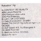 Газонная травосмесь DLF Universal Robustica, 1 кг - фото 7406863