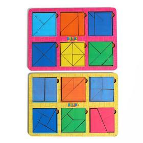 Сложи квадрат Б.П. Никитин, 6 квадратов 4-й уровень  МТД-025