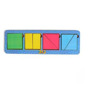 Сложи квадрат Б.П.Никитин 4 квадрата 1 уровень МТД-019