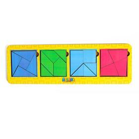 Сложи квадрат Б.П.Никитин 4 квадрата 3 уровень МТД-021