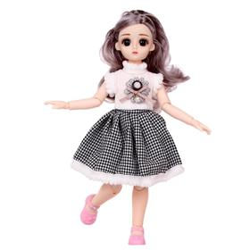 Кукла модная «Полина», шарнирная, в платье, МИКС