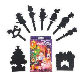 Настольная игра «Театр теней» «Истории Гарри» набор фигурок для театра теней «Щелкунчик»