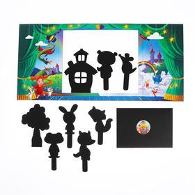 Настольная игра «Театр теней» «Истории Гарри» Русские сказки для малышей - фото 7502582
