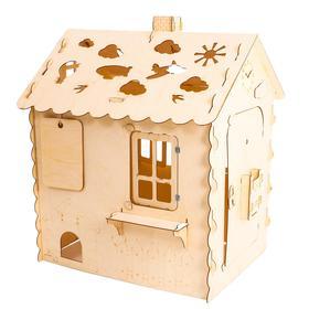 Кукольный домик, из фанеры: 4 мм