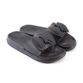 Слайдеры женские, цвет чёрный, размер 36