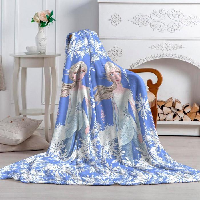 Плед «Павлинка» Холодное Сердце-2 Эльза, размер 150х200 см - фото 7440080