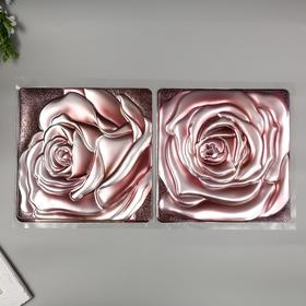 "Объёмные наклейки Room Decor ""Чайная роза"" 32х60 см"
