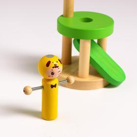 Детская игрушка «Запусти человечка» 9х9х31,5 см МИКС - фото 7943544