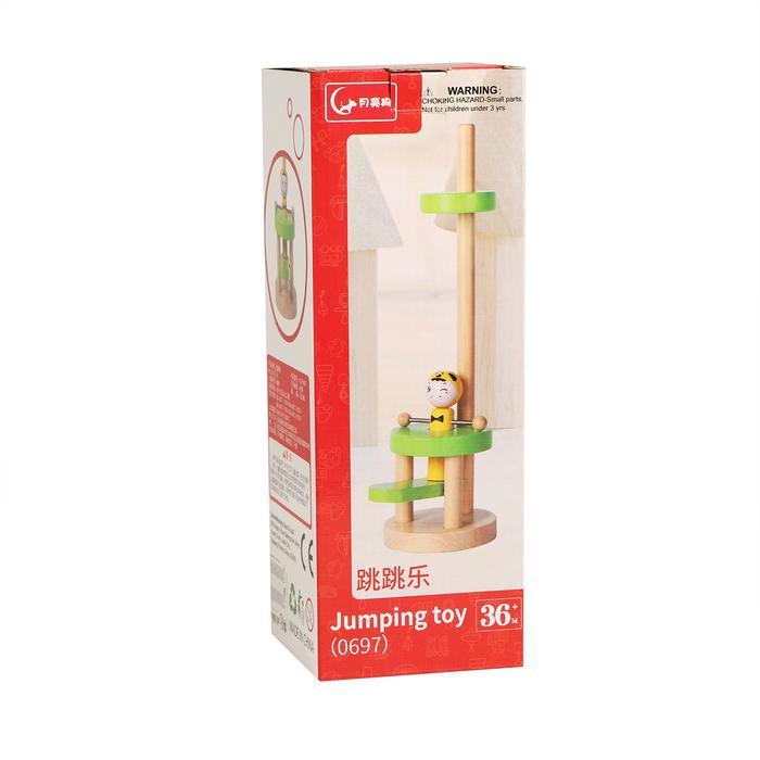 Детская игрушка «Запусти человечка» 9х9х31,5 см МИКС - фото 7440195
