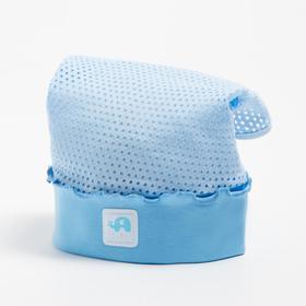 Косынка для девочки, цвет голубой, размер 50-52