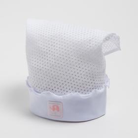 Косынка для девочки, цвет белый, размер 50-52
