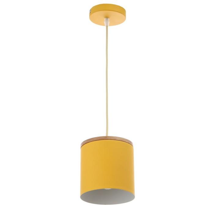 Светильник 40387/1 E27 40Вт желтый 13х13х15-115 см - фото 582474